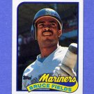 1989 Topps Baseball #556 Bruce Fields - Seattle Mariners NM-M