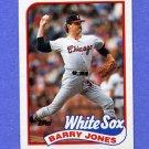 1989 Topps Baseball #539 Barry Jones - Chicago White Sox NM-M