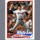 1989 Topps Baseball #539 Barry Jones - Chicago White Sox Ex