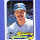 1989 Topps Baseball #531 Dave Hengel - Seattle Mariners