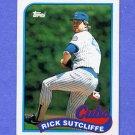 1989 Topps Baseball #520 Rick Sutcliffe - Chicago Cubs