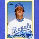1989 Topps Baseball #507 Steve Farr - Kansas City Royals