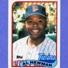 1989 Topps Baseball #503 Al Newman - Minnesota Twins