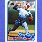 1989 Topps Baseball #502 Duane Ward - Toronto Blue Jays NM-M