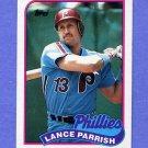 1989 Topps Baseball #470 Lance Parrish - Philadelphia Phillies