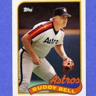 1989 Topps Baseball #461 Buddy Bell - Houston Astros