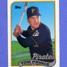 1989 Topps Baseball #453 Tom Prince - Pittsburgh Pirates