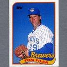 1989 Topps Baseball #419 Tom Filer - Milwaukee Brewers ExMt