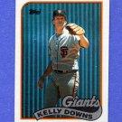 1989 Topps Baseball #361 Kelly Downs - San Francisco Giants