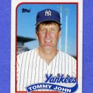 1989 Topps Baseball #359 Tommy John - New York Yankees