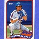 1989 Topps Baseball #356 Kevin Elster - New York Mets NM-M