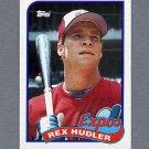 1989 Topps Baseball #346 Rex Hudler - Montreal Expos