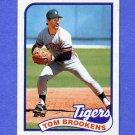 1989 Topps Baseball #342 Tom Brookens - Detroit Tigers NM-M
