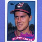 1989 Topps Baseball #339 Scott Bailes - Cleveland Indians