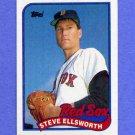 1989 Topps Baseball #299 Steve Ellsworth - Boston Red Sox