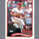 1989 Topps Baseball #290 John Franco - Cincinnati Reds ExMt