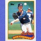 1989 Topps Baseball #280 Bob Knepper - Houston Astros