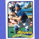 1989 Topps Baseball #279 Scott Bradley - Seattle Mariners