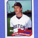 1989 Topps Baseball #269 Tom Bolton - Boston Red Sox