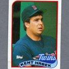 1989 Topps Baseball #265 Kent Hrbek - Minnesota Twins VgEx