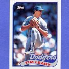 1989 Topps Baseball #249 Tim Leary - Los Angeles Dodgers