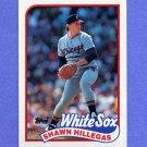 1989 Topps Baseball #247 Shawn Hillegas - Chicago White Sox