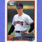 1989 Topps Baseball #241 Brett Butler - San Francisco Giants
