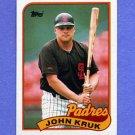1989 Topps Baseball #235 John Kruk - San Diego Padres