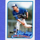 1989 Topps Baseball #219 Jim Clancy - Toronto Blue Jays