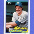 1989 Topps Baseball #199 Mike Schooler RC - Seattle Mariners