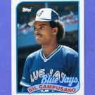 1989 Topps Baseball #191 Sil Campusano - Toronto Blue Jays Ex