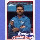 1989 Topps Baseball #183 Oddibe McDowell - Texas Rangers NM-M