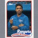 1989 Topps Baseball #183 Oddibe McDowell - Texas Rangers ExMt