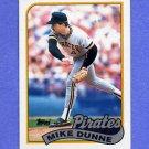 1989 Topps Baseball #165 Mike Dunne - Pittsburgh Pirates