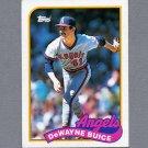 1989 Topps Baseball #147 DeWayne Buice - California Angels Ex