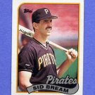 1989 Topps Baseball #126 Sid Bream - Pittsburgh Pirates