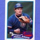 1989 Topps Baseball #115 Jody Davis - Atlanta Braves
