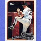1989 Topps Baseball #065 Rick Reuschel - San Francisco Giants
