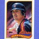 1989 Topps Baseball #064 Alex Trevino - Houston Astros