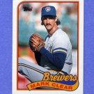 1989 Topps Baseball #063 Mark Clear - Milwaukee Brewers