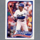 1989 Topps Baseball #062 Alfredo Griffin - Los Angeles Dodgers Ex