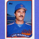 1989 Topps Baseball #058 Lee Mazzilli - New York Mets
