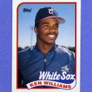 1989 Topps Baseball #034 Ken Williams - Chicago White Sox