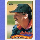 1989 Topps Baseball #024 Larry Andersen - Houston Astros NM-M