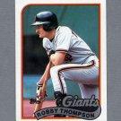 1989 Topps Baseball #015 Robby Thompson - San Francisco Giants ExMt