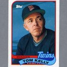 1989 Topps Baseball #014 Tom Kelly MG / Minnesota Twins Team Checklist