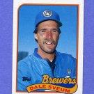1989 Topps Baseball #012 Dale Sveum - Milwaukee Brewers NM-M