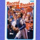 1989 Topps Baseball #003 Gary Carter RB - New York Mets NM-M