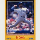 1988 Score Baseball #523 Ed Correa - Texas Rangers