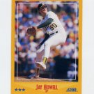 1988 Score Baseball #522 Jay Howell - Oakland A's